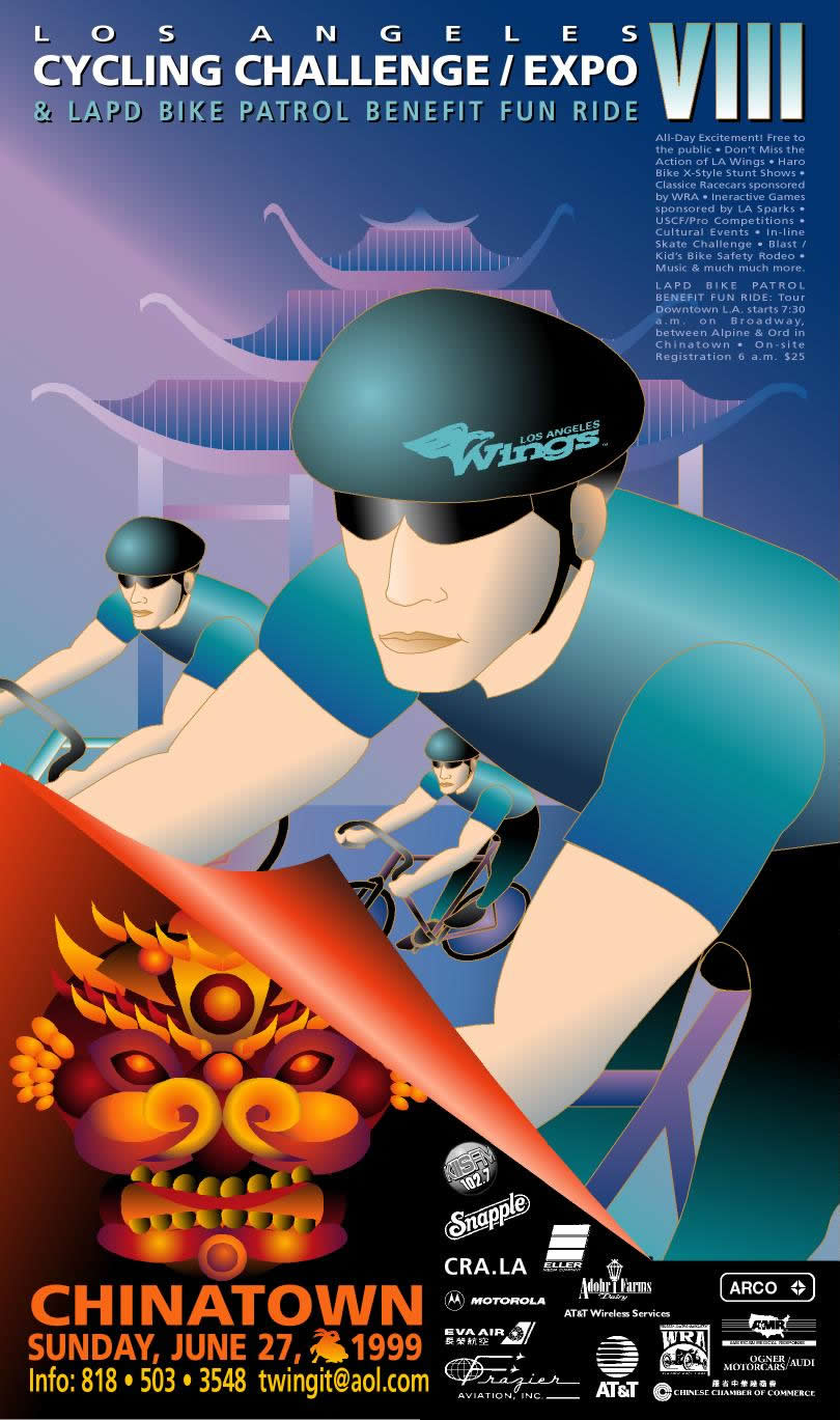 ©Atelier85 Cycling Challenge Poster